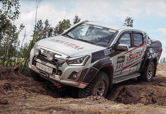 Экстремальный пикап Isuzu D-Max Arctic Trucks