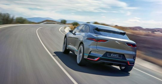 Электрокроссовер Jaguar I-Pace - характеристики и фото