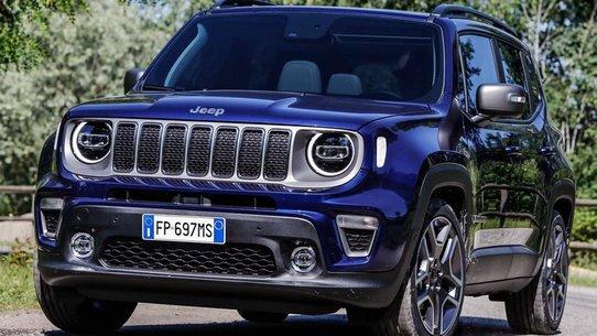 Обновленный Jeep Renegade 2018: двигатель один литр