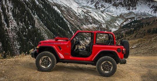 Новый Jeep Wrangler 2018: фото и характеристики