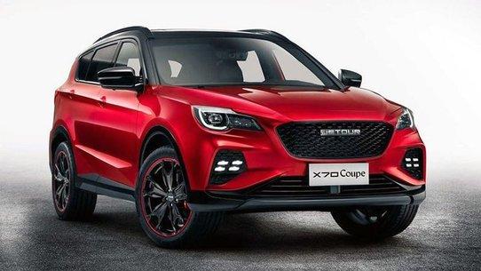 Jetour X70 Coupe: еще один кросс-купе из Китая