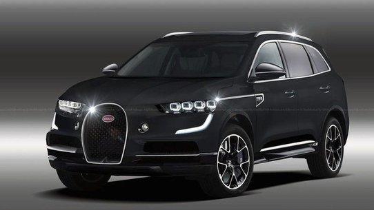 Bugatti хочет войти в сегмент люксовых внедорожников