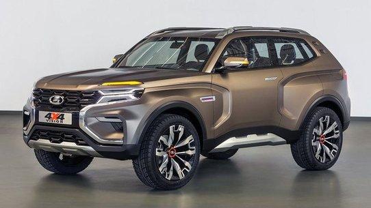 Lada 4х4 Vision: концепт новой Нивы 4х4 2018