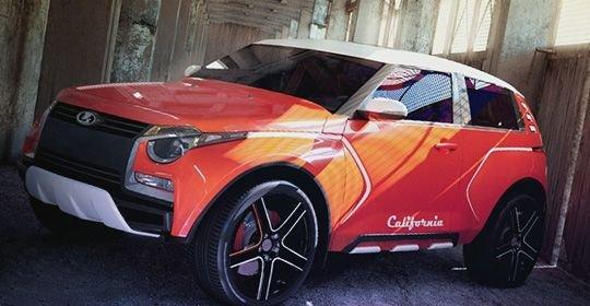Lada California на выставке в Екатеринбурге
