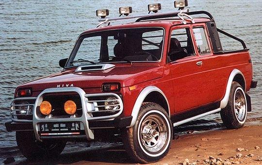 Lada Logo новое название Lada 4x4 Pickup