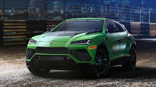 Lamborghini Urus ST-X: гоночная версия для монокубка