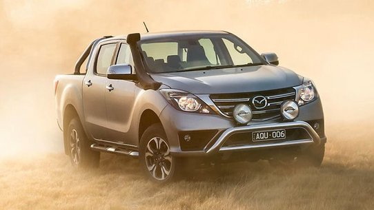 Mazda BT-50 2018: фото и характеристики