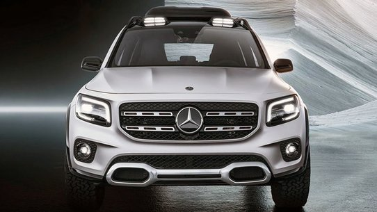 Mercedes-Benz GLB 2019: новый семиместный кроссовер компании