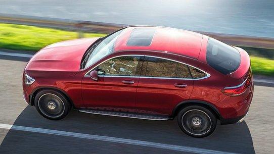 Мерседес GLC Купе 2019: новый кузов, моторы и цены