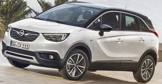 Opel Crossland X 2017 характеристики и фото