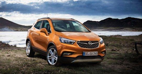 Opel Mokka X 2017 модельного года