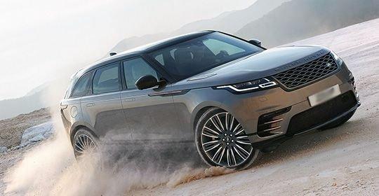 В России Range Rover Velar можно будет купить в октябре