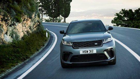 Range Rover Velar с мотором V8 будут продать всего 1 год