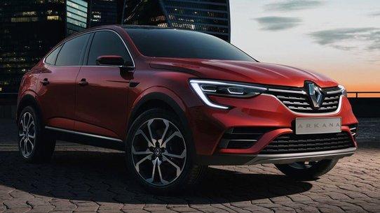 Кроссовер Renault Arkana 2018-2019: фото и характеристики