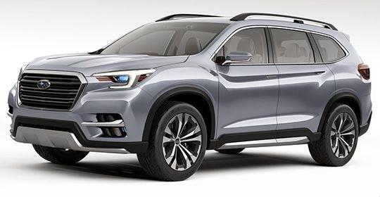 Subaru Ascent 2018 описание и фото