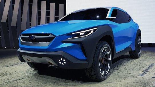 Subaru Viziv Adrenaline: в поисках нового фирменного стиля