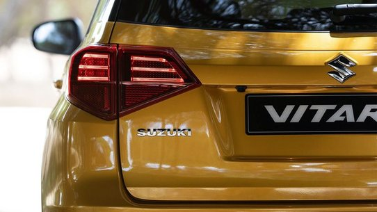 Suzuki обновила кроссовер Vitara