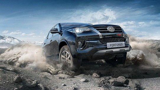Toyota Fortuner TRD можно купить в России