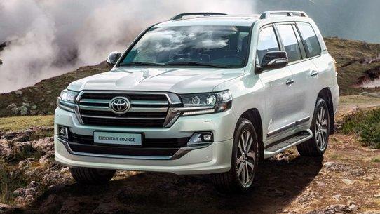 Toyota Land Cruiser 200 Executive Lounge: новый Крузак