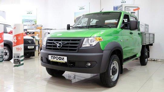 Обновлённый УАЗ Профи 2019: фото и цены