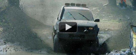 Внедорожники по грязи видео