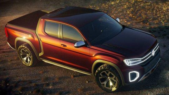 Пикап Volkswagen Atlas Tanoak: пока только в виде концепта