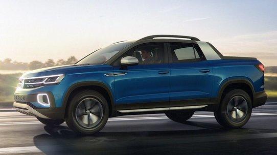 Volkswagen Tarok - новый пикап компании