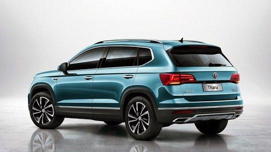 Volkswagen Tharu: фото, характеристики, появление в России