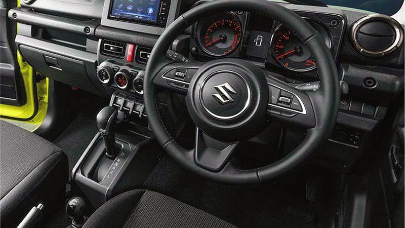 Руль нового Suzuki Jimny