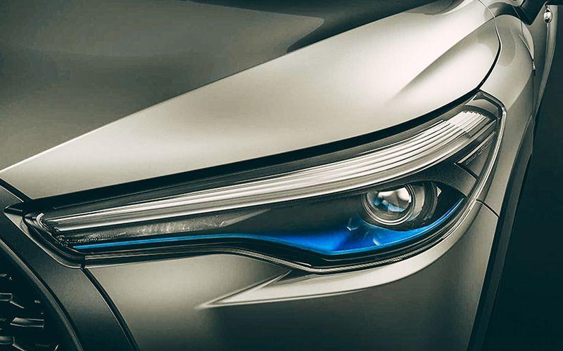 Передняя оптика Тойота Королла Кросс