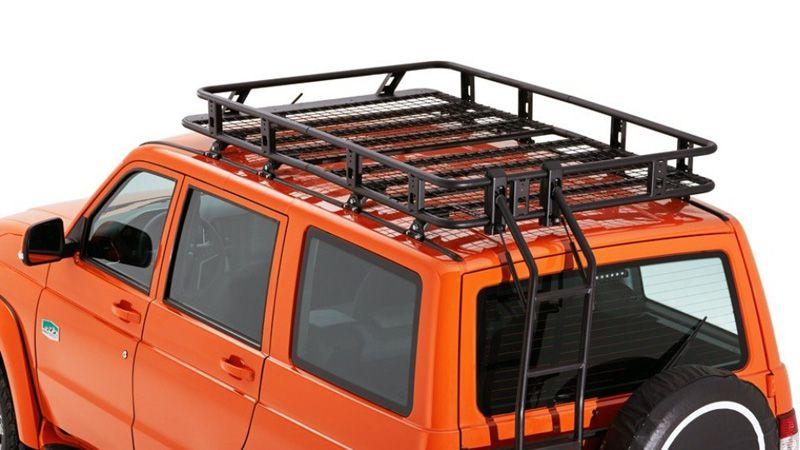 Багажник на крышу УАЗ Патриот 2018 в версии экспедиция