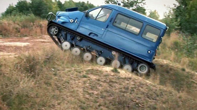 Российский вездеход ГАЗ 3409 Бобр