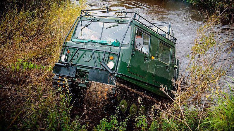 Шведский вездеход Лось BV 206