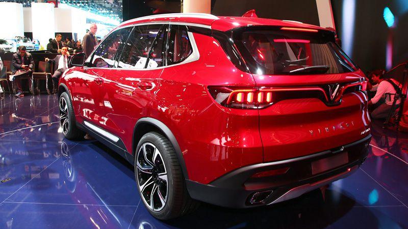 Вьетнамское авто VinFast Lux SA2.0