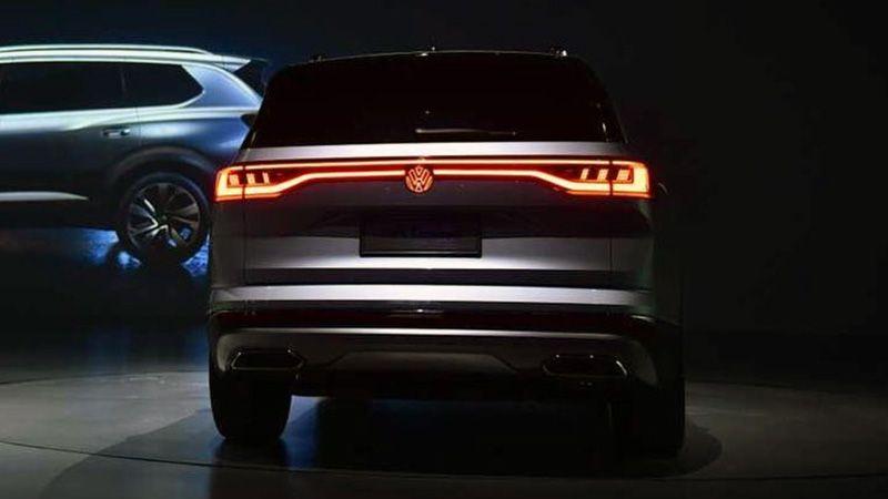 Volkswagen SMV вид сзади