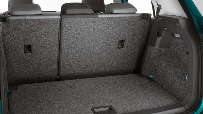 Багажник кроссовера Volkswagen T-Cross