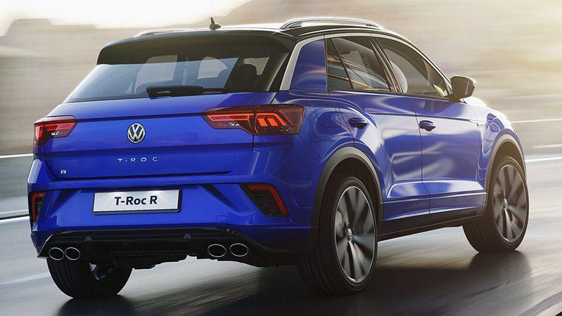 Спортивная версия Volkswagen T-Roc