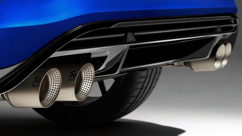 Титановая выхломная система Volkswagen T-Roc R