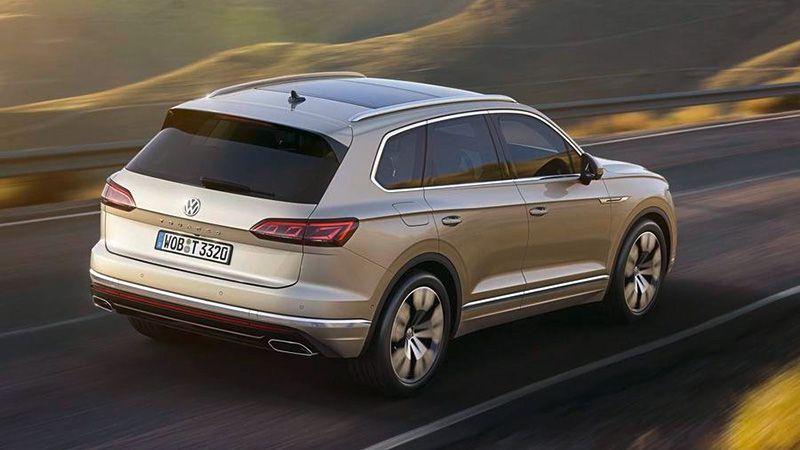 Новый Volkswagen Touareg 2018