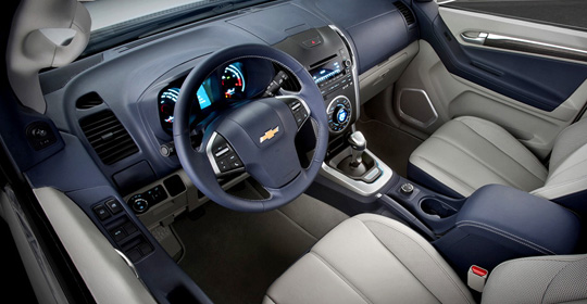 Chevrolet Trailblazer 2013 отзывы
