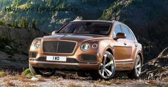 Bentley Bentayga 2016 фото