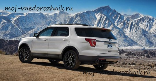 Ford Explorer XLT Sport Appearance Package фото