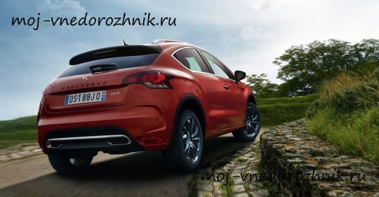 Citroen DS4 Crossback фото