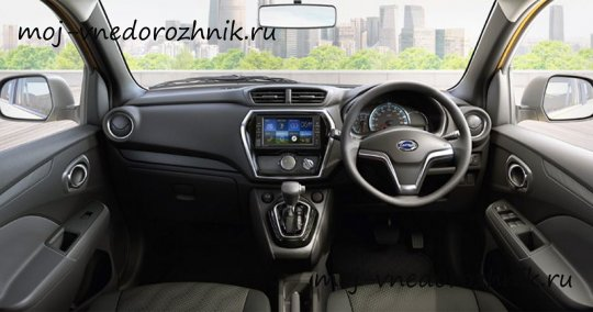 Салон Datsun Cross 2018