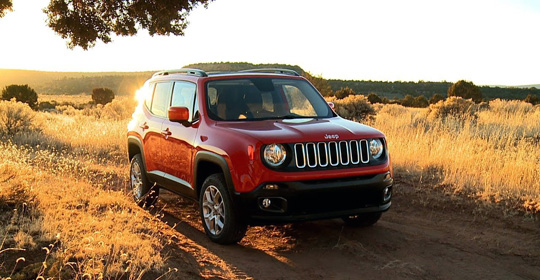 Jeep Renegade цена в России