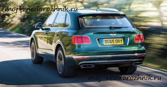 Bentley Bentayga 2016 news фото